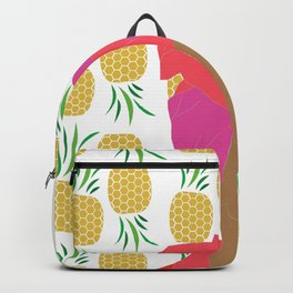 Pineapple Bawse Babe Backpack