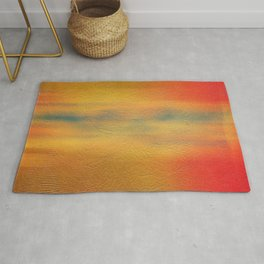 Yellow Orange Wall Paint Texture Rug