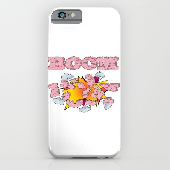 Boom, cake  iPhone & iPod Case
