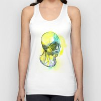 dna Tank Tops featuring DNA by Chen Li