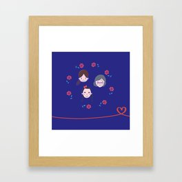 Happy Women! Framed Art Print