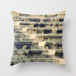 Ancient Amphitheater Throw Pillow