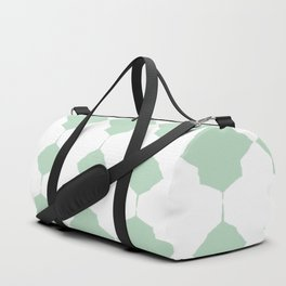 Minty_Geo_Love_ Duffle Bag