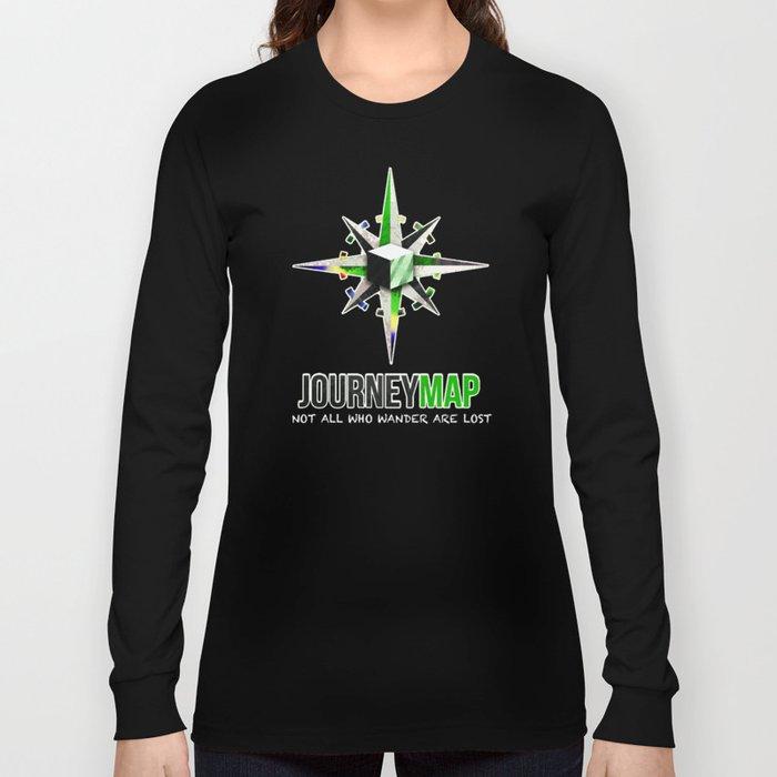 Journey Map Long Sleeve T-shirt