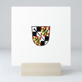 flag of Bayreuth Mini Art Print