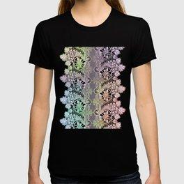 big green leaf lace T-shirt