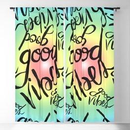 Good Vibes - Rainbow Pride Blackout Curtain