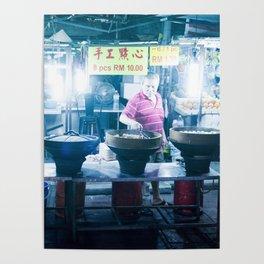 Street Food - Kuala Lumpur Poster