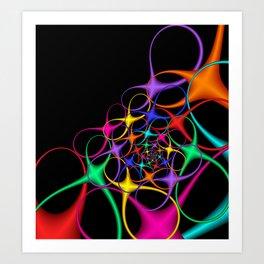 fractal geometry -126- Art Print