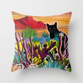 Pinacate Primavera Throw Pillow