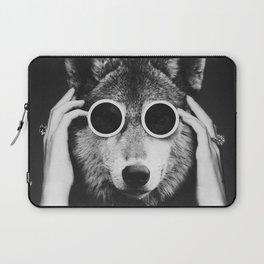 Wolf Glam Laptop Sleeve