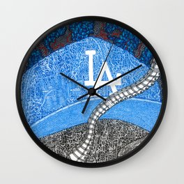 Represent LA Wall Clock