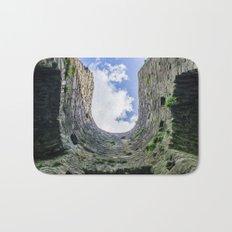 Castle Walls and Clouds Bath Mat