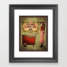 Midgar Flower Shop Framed Art Print