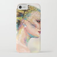 jennifer lawrence iPhone & iPod Cases featuring Jennifer Lawrence by Pandora's Box Design Co.