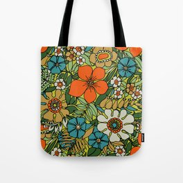 70s Plate Tote Bag