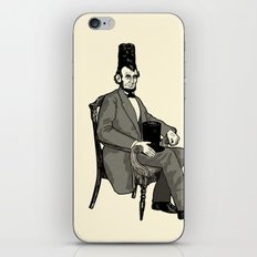Hat Head iPhone & iPod Skin