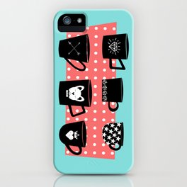 Coffee Mugs Collection iPhone Case