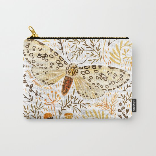 Giant Leopard Moth Carry-All Pouch