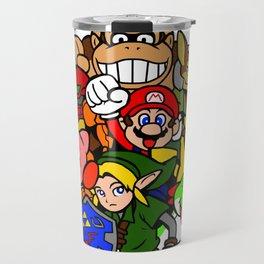 Super Smash 64 Roster Travel Mug