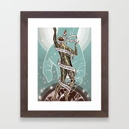 Every Fiber of Your Being Framed Art Print
