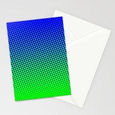 80's grade blue Stationery Cards