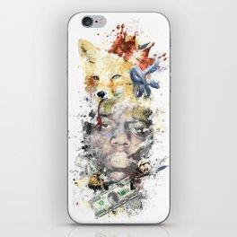 Notorious BIG Fox iPhone Skin