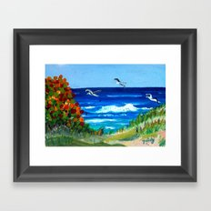 Sea Grapes Framed Art Print