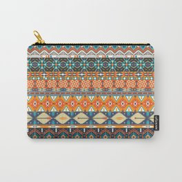 Hipster Aztec Tribal Geometric Carry-All Pouch