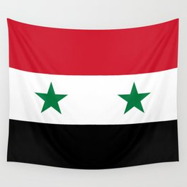 National flag of Syria Wall Tapestry