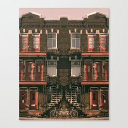 Mirror Montreal Canvas Print