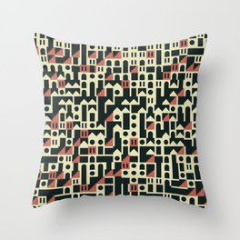 Abstract Geometric Artwork 101 Throw Pillow