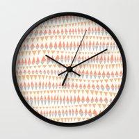 circus Wall Clocks featuring CIRCUS by Kelli Murray