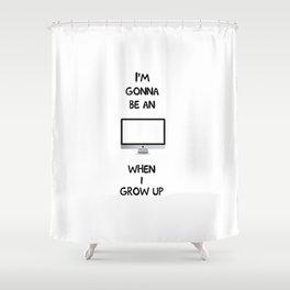 Apple iMac Shower Curtain