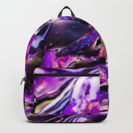psychedelic rainbow gradient 0795 Backpack
