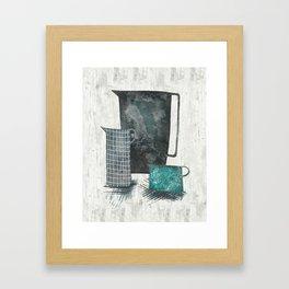 Three jugs Framed Art Print