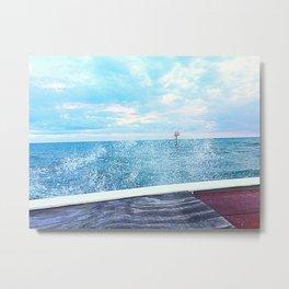 Sea Salt Spray Metal Print