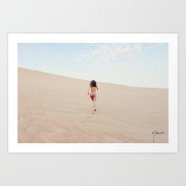 1348 Carissima Hedy Sandy Dune Nude Art Print
