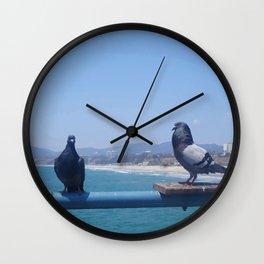 Santa Monica II Wall Clock