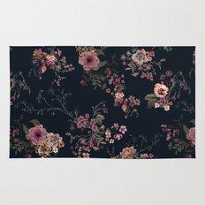 Japanese Boho Floral Rug