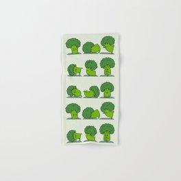 Broccoli Yoga Hand & Bath Towel