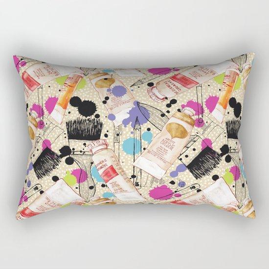 Paint It Rectangular Pillow