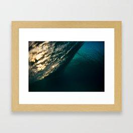Backside Framed Art Print