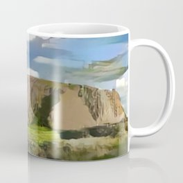 Ayers Rock in the Colors of Dover Coffee Mug