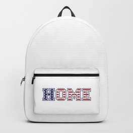 USA HOME, white version Backpack
