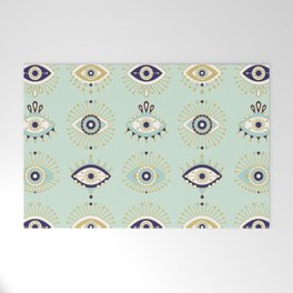 Evil Eye Collection Welcome Mat
