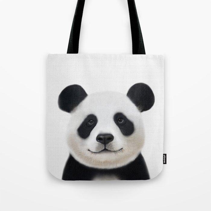 Panda Print Nursery Art Decor Animal Baby Animals Tote Bag
