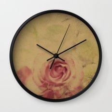 Victorian Flowers Wall Clock
