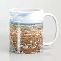 florence Mugs featuring Florence by NatalieBoBatalie