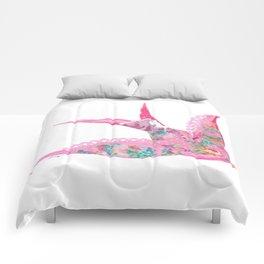 Pink Swallow Comforters